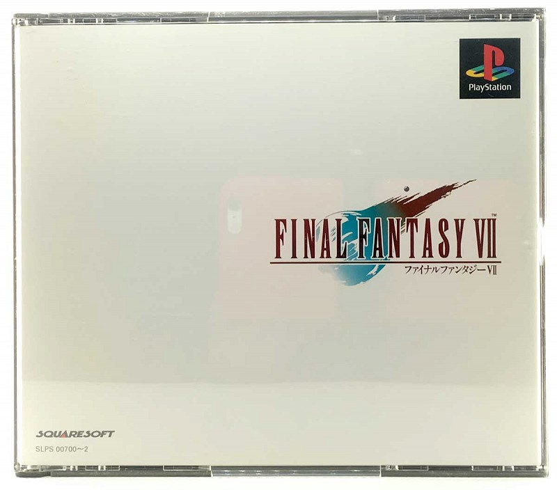 Photo of the jewel case for Final Fantasy VII for Sony Playstation
